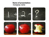 Education & Training: Arithmetic In School PowerPoint Template #03728
