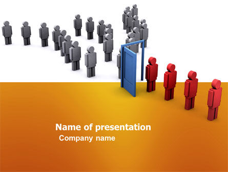 3D: Allocation PowerPoint Template #03729
