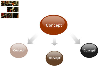 Student In The Library PowerPoint Template, Slide 4, 03732, Education & Training — PoweredTemplate.com