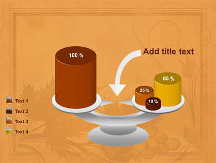 Autumn Theme in Light Brown PowerPoint Template Slide 10
