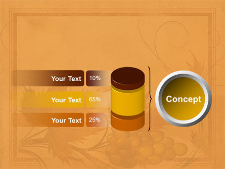 Autumn Theme in Light Brown PowerPoint Template Slide 11