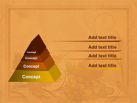 Autumn Theme in Light Brown PowerPoint Template Slide 12