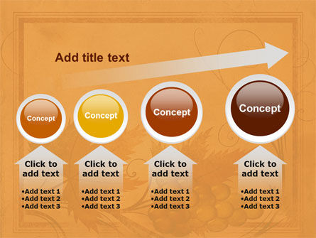 Autumn Theme in Light Brown PowerPoint Template Slide 13