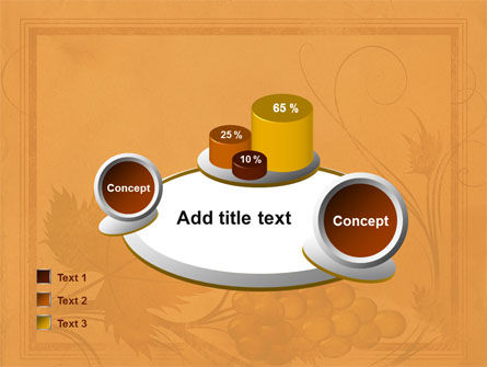 Autumn Theme in Light Brown PowerPoint Template Slide 16