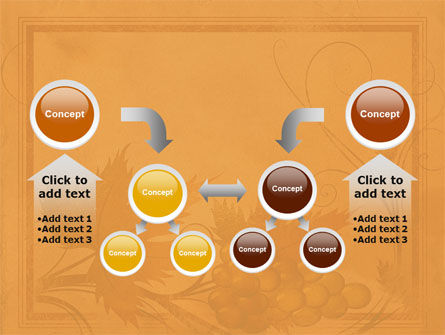 Autumn Theme in Light Brown PowerPoint Template Slide 19