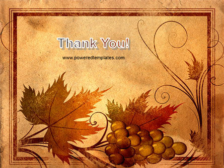 Autumn Theme in Light Brown PowerPoint Template Slide 20