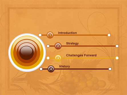 Autumn Theme in Light Brown PowerPoint Template Slide 3