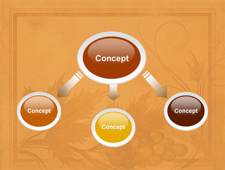Autumn Theme in Light Brown PowerPoint Template Slide 4
