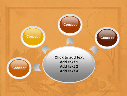 Autumn Theme in Light Brown PowerPoint Template Slide 7