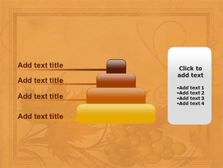 Autumn Theme in Light Brown PowerPoint Template Slide 8
