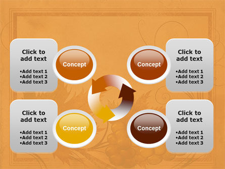Autumn Theme in Light Brown PowerPoint Template Slide 9