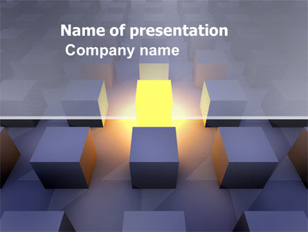 Cubes PowerPoint Template