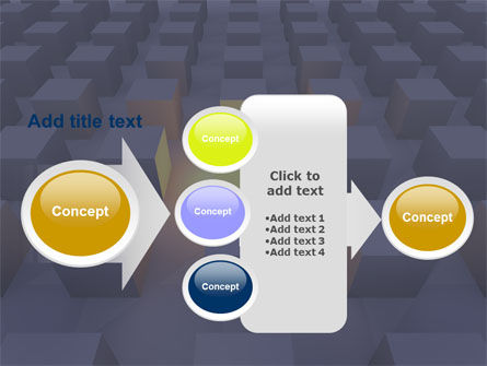 Cubes PowerPoint Template Slide 17
