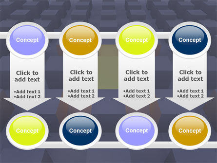 Cubes PowerPoint Template Slide 18