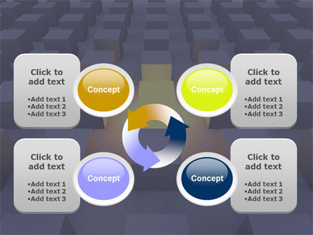 Cubes PowerPoint Template Slide 9