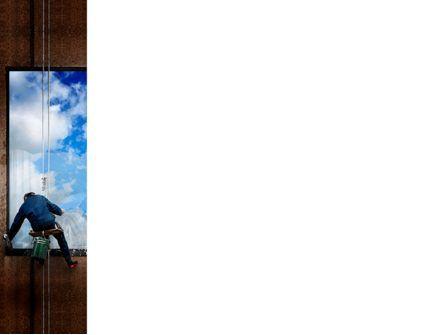 Window PowerPoint Template, Slide 3, 03737, Business Concepts — PoweredTemplate.com