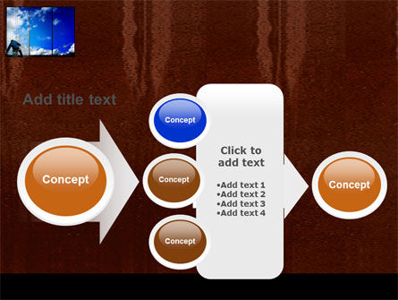 Window PowerPoint Template Slide 17