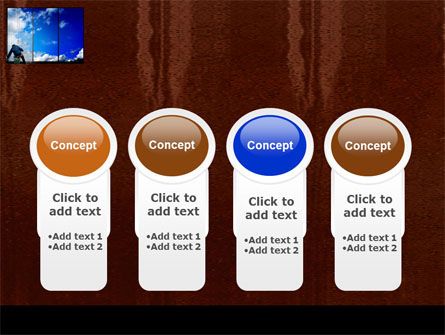 Window PowerPoint Template Slide 5