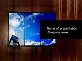 Business Concepts: Window PowerPoint Template #03737