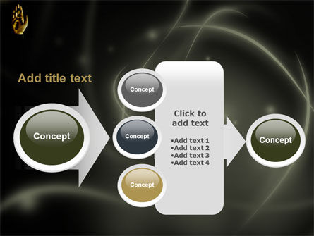 Keys On The Palm PowerPoint Template Slide 17