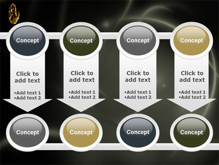 Keys On The Palm PowerPoint Template Slide 18