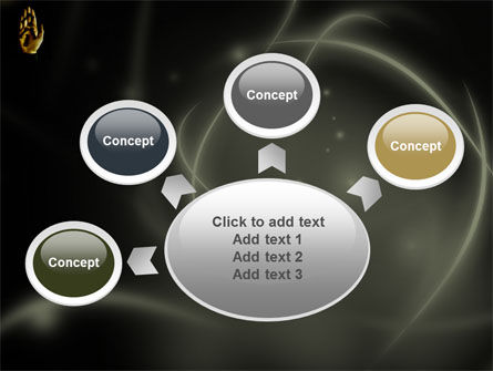 Keys On The Palm PowerPoint Template Slide 7