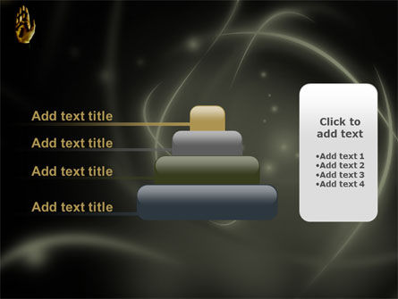 Keys On The Palm PowerPoint Template Slide 8