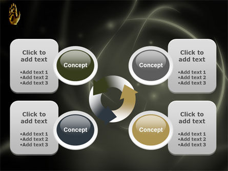 Keys On The Palm PowerPoint Template Slide 9