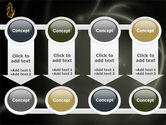 Keys On The Palm PowerPoint Template#18