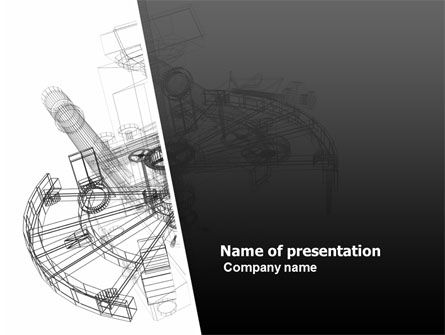 Construction Sketch PowerPoint Template