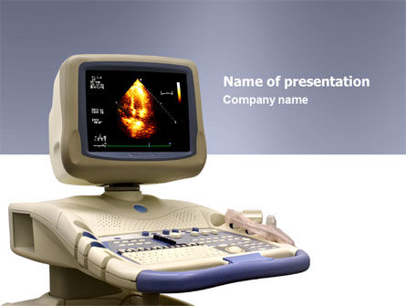 Medical: Ultrasound PowerPoint Template #03741