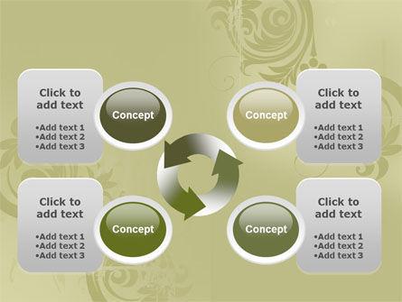 Artistic Frame PowerPoint Template Slide 9