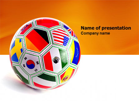 Sports: World Cup PowerPoint Template #03743