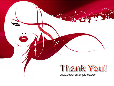 Glamour Girl PowerPoint Template Slide 20