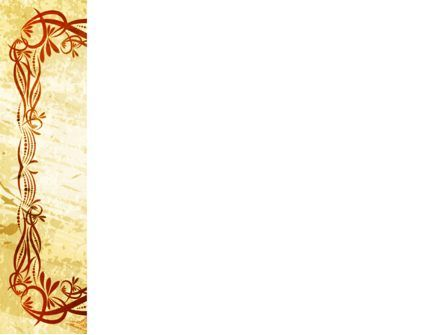 Fanciful Frame PowerPoint Template, Slide 3, 03746, Abstract/Textures — PoweredTemplate.com