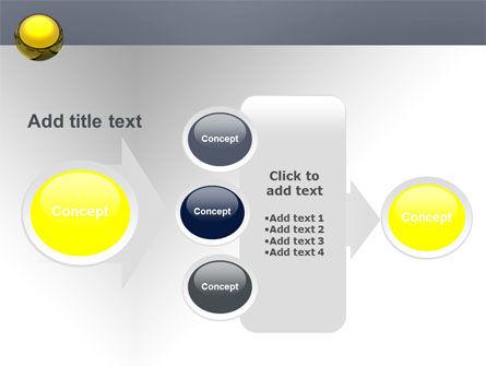 Yellow Ball PowerPoint Template Slide 17