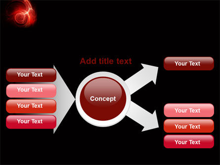 Red Fantasy PowerPoint Template Slide 14