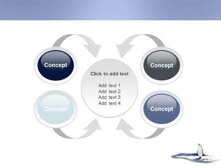 Penguin PowerPoint Template Slide 6