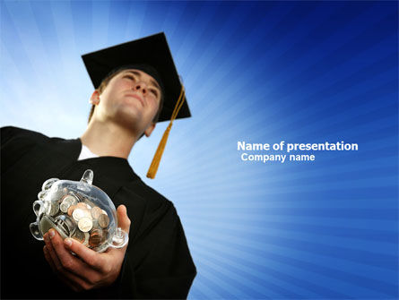 Paid Education PowerPoint Template, 03753, People — PoweredTemplate.com
