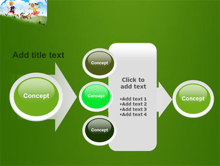 Happy Childhood PowerPoint Template Slide 17