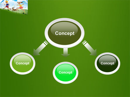 Happy Childhood PowerPoint Template Slide 4