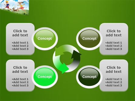 Happy Childhood PowerPoint Template Slide 9