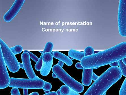 Bacillus PowerPoint Template, 03757, Medical — PoweredTemplate.com