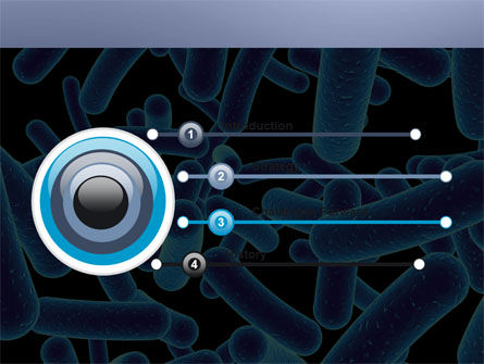 Bacillus PowerPoint Template, Slide 3, 03757, Medical — PoweredTemplate.com