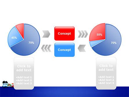Rainbow Socks PowerPoint Template Slide 11