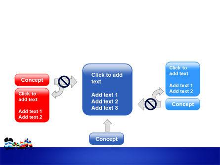 Rainbow Socks PowerPoint Template Slide 13