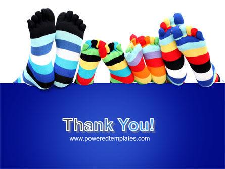 Rainbow Socks PowerPoint Template Slide 20
