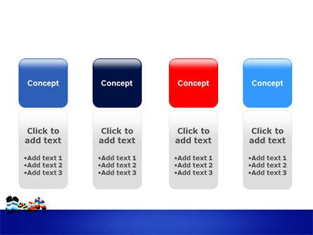 Rainbow Socks PowerPoint Template Slide 5