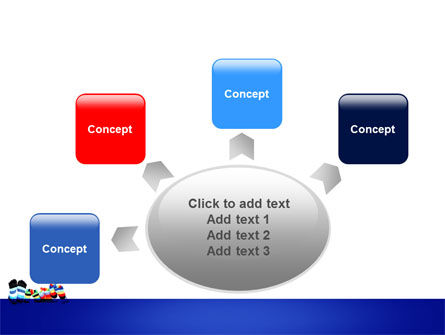 Rainbow Socks PowerPoint Template Slide 7