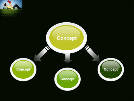 Reading Student PowerPoint Template Slide 4